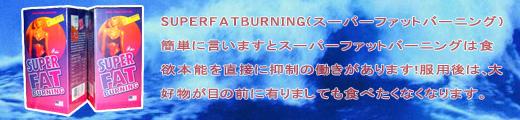 超級脂肪燃焼弾(SUPER FAT BURNING)